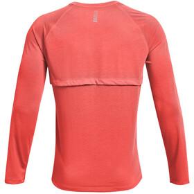 Under Armour Streaker Long Sleeve Shirt Men, rood